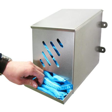 Dispenser rustfritt staaal hetter hand