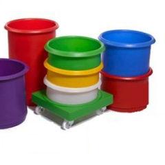 Fargekodede Stablebare bokser