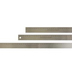 Linjal i rustfritt stål