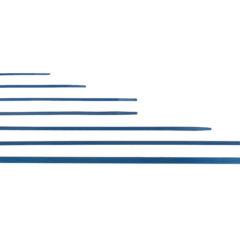 Detekterbare kabelstrips i 7 størrelser