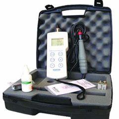 Enkel oksygenmåler i koffert