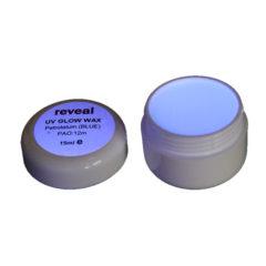 UV Glow voks blå