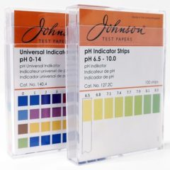 Johnson universal ph-strips pH0-14