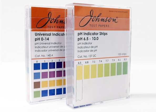 Johnson universal ph-strips pH0-14