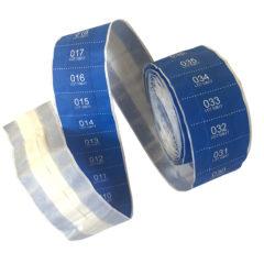 Serienummererte plaster detekterbare