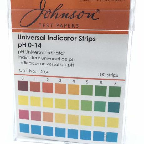 pH-strips pH1-14