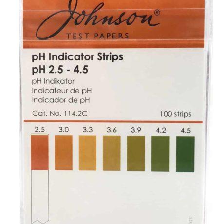 pH-strips pH2.5-4.5