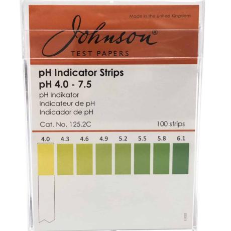 pH-strips pH4-7.5